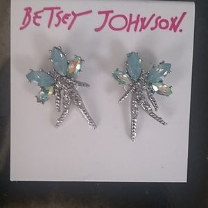 Betsy Johnson Fairy earrings